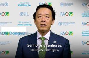 Mensagem de vídeo de QU Dongyu, Diretor-Geral da FAO