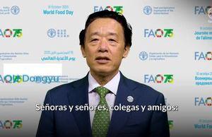 Videomensaje del Director General de la FAO QU Dongyu