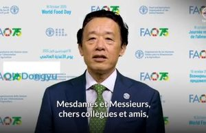 Message vidéo de M. Qu Dongyu, Directeur général de la FAO