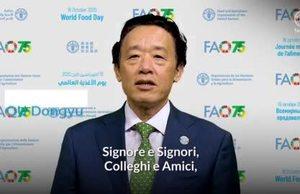 Videomessaggio di QU Dongyu, Direttore Generale della FAO