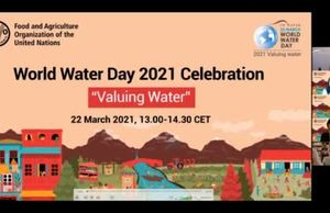 Celebration of World Water Day 2021
