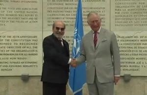 HRH Prince of Wales visits FAO