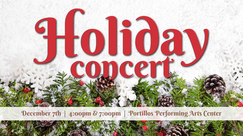 Thumbnail for entry Holiday Collage Concert '18
