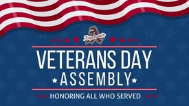 Thumbnail for entry Veterans Day Assembly