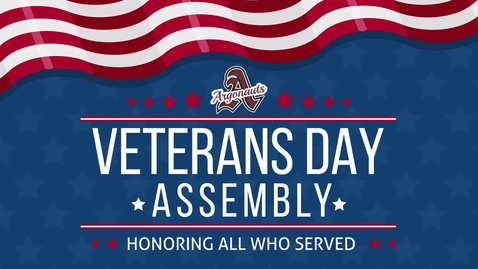 Thumbnail for entry Veterans Day Assembly 2018