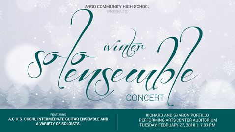 Thumbnail for entry Winter Solo and Ensemble Concert