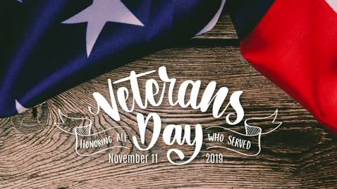 Thumbnail for entry Veterans Day Assembly 2019