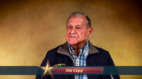 Thumbnail for entry Honoring All Who Served: Jim Copp