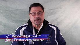Thumbnail for entry Honoring All Who Served: Kenneth Malkowski