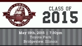 Thumbnail for entry Argo Community High School Commencement Ceremony - Class of 2015