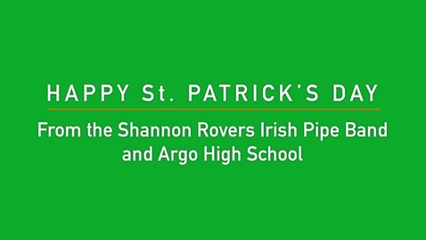 Thumbnail for entry The Shannon Rovers at Argo