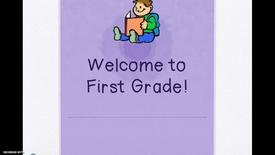1st Grade BTSN First Grade