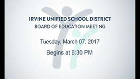 Thumbnail for entry 2017-03-07 Board Meeting