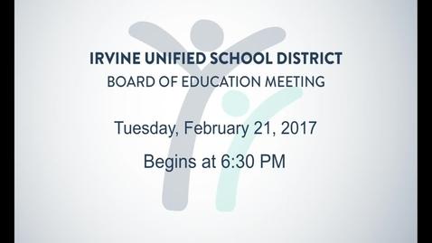 2017-02-21 Board Meeting