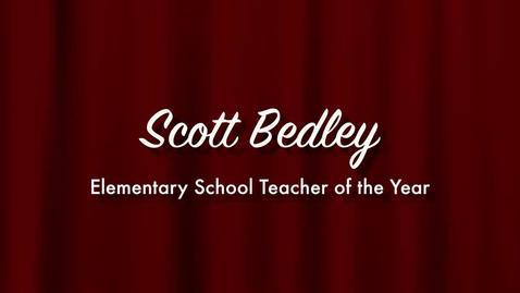 Scott Bedley - 2013 Elementary School Teacher of the Year