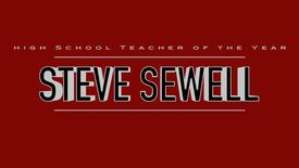 Steve Sewell- 2016 High School Teacher of the Year