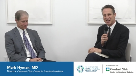 Thumbnail for entry Interview with Wayne Jonas, MD