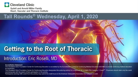 Thumbnail for entry Getting to the Root of Thoracic Aneurysms