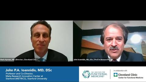 Thumbnail for entry Exclusive Interview with John P.A. Ioannidis, MD, DSc