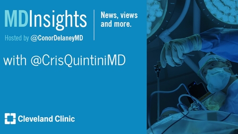 Thumbnail for entry MD Insights: Dr. Cristiano Quintini