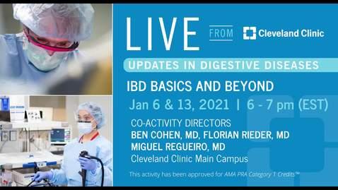 Thumbnail for entry IBD Basics and Beyond - Part 1