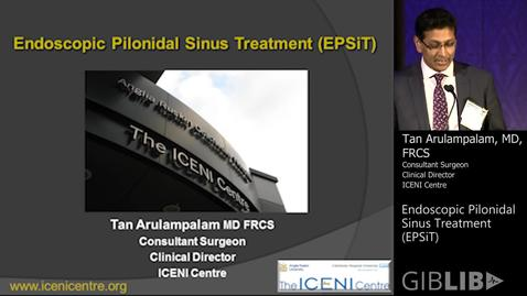 Thumbnail for entry Endoscopic Pilonidal Sinus Treatment (EPSiT)
