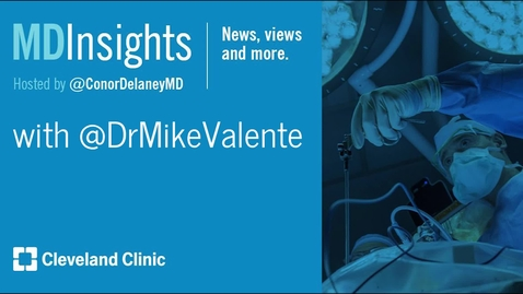 Thumbnail for entry MD Insights: Dr. Michael Valente