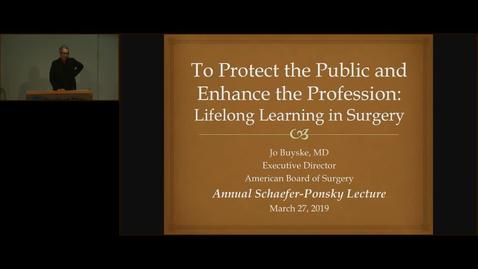 Thumbnail for entry To Protect the Public and Enhancing the Profession