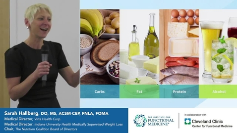 Thumbnail for entry Ketogenic Diet for Diabetes with Sarah Hallberg, DO