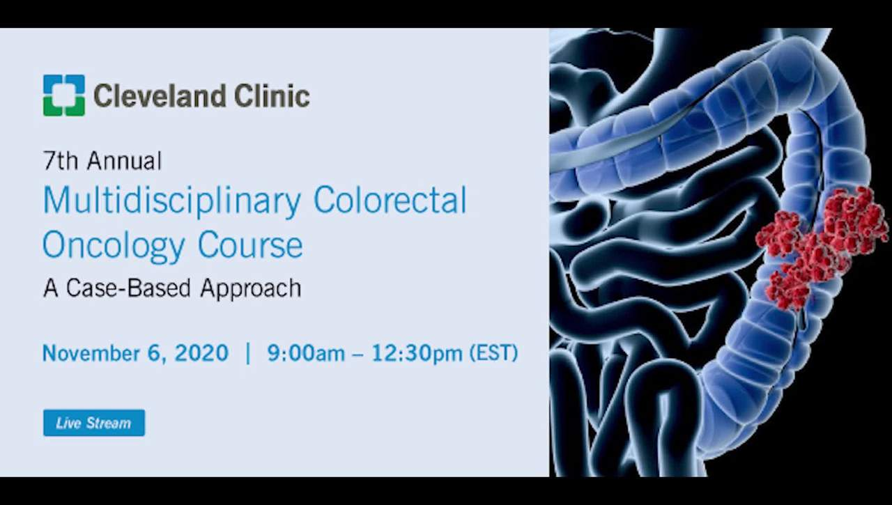 7th Annual Multidisciplinary Colorectal Oncology Course - Nov. 2020