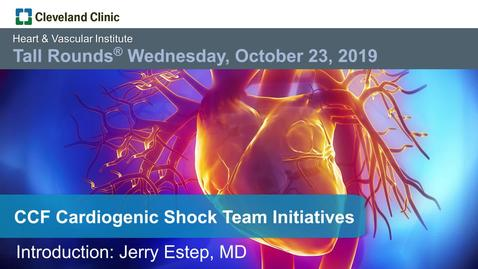 Thumbnail for entry CCF Cardiogenic Shock Team Initiatives