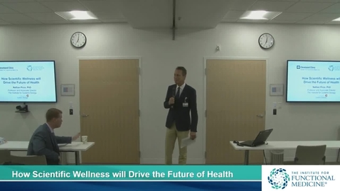 Thumbnail for entry How Scientific Wellness will Drive the Future of Health with Nathan Price, PhD