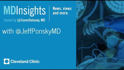 Thumbnail for entry MD Insights: Dr. Jeffrey Ponsky