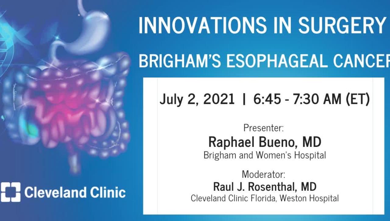 Brigham's Esophageal Cancer