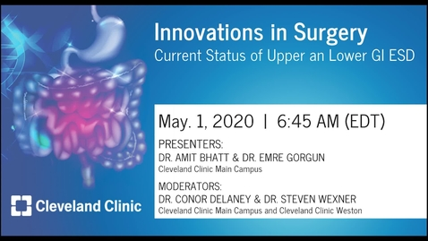 Thumbnail for entry Innovations in Surgery – May 1, 2020