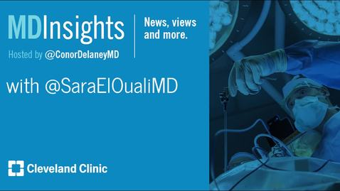 Thumbnail for entry MD Insights: Dr. Sara El Ouali