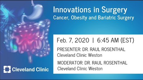 Thumbnail for entry Cancer, Obesity and Bariatric Surgery