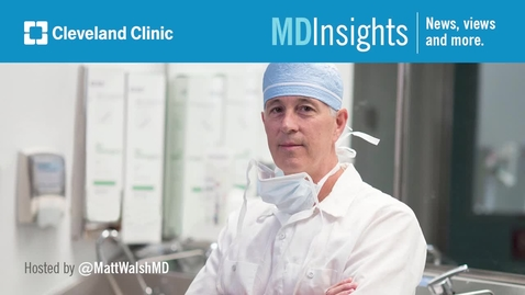 Thumbnail for entry MD Insights: Dr. Toms Augustin