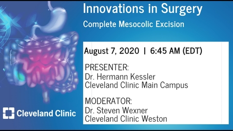 Thumbnail for entry Complete Mesocolic Excision