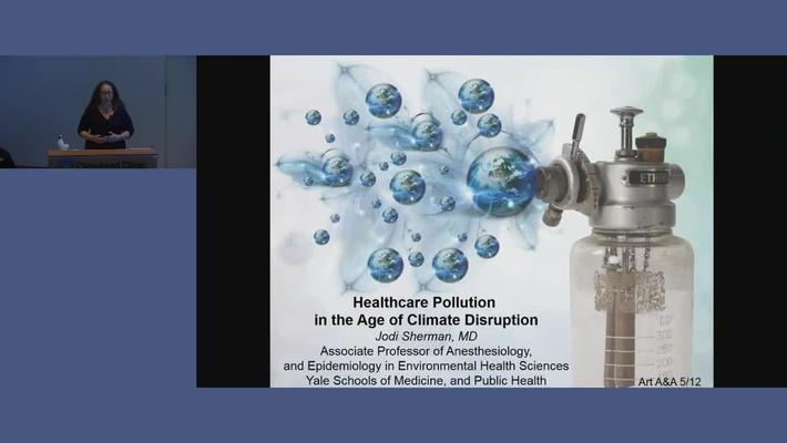 Healthcare Pollution in the Age of Climate Disruption