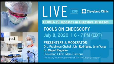 Thumbnail for entry Live From Cleveland Clinic - July 8, 2020