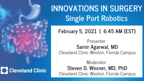 Thumbnail for entry Single Port Robotics