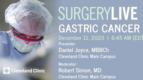 Thumbnail for entry Gastric Cancer
