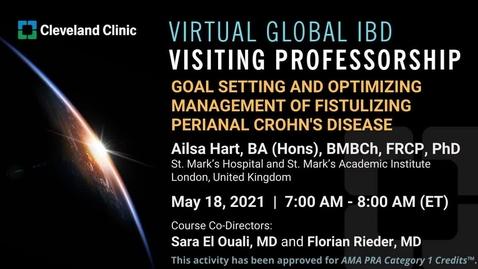 Thumbnail for entry Global IBD Visiting Professorship: Prof Ailsa Hart - May 18, 2021