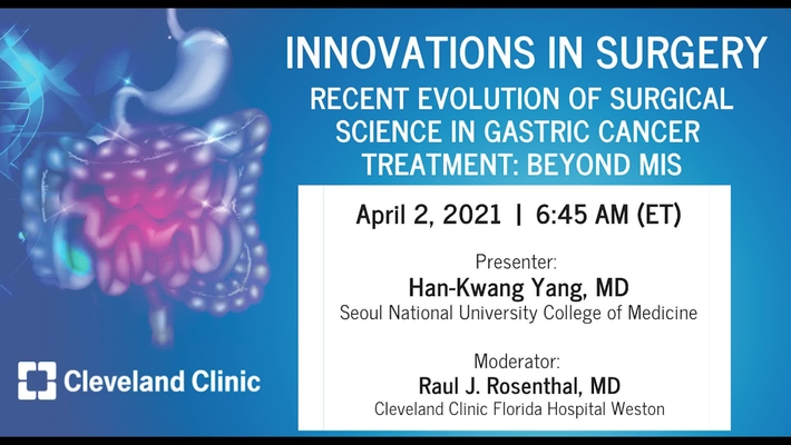 Recent Evolution of Surgical Science in Gastric Cancer Treatment: Beyond MIS - April 2021
