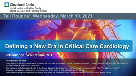 Thumbnail for entry Defining a New Era in Critical Care Cardiology