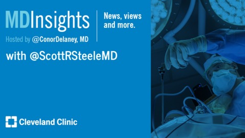 Thumbnail for entry MD Insights: Dr. Scott Steele