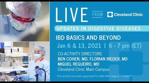 Thumbnail for entry IBD Basics and Beyond - Part 2