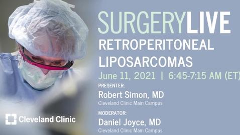 Thumbnail for entry Retroperitoneal Liposarcomas