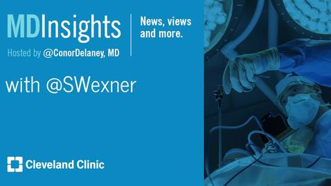 Thumbnail for entry MD Insights: Dr. Steven Wexner